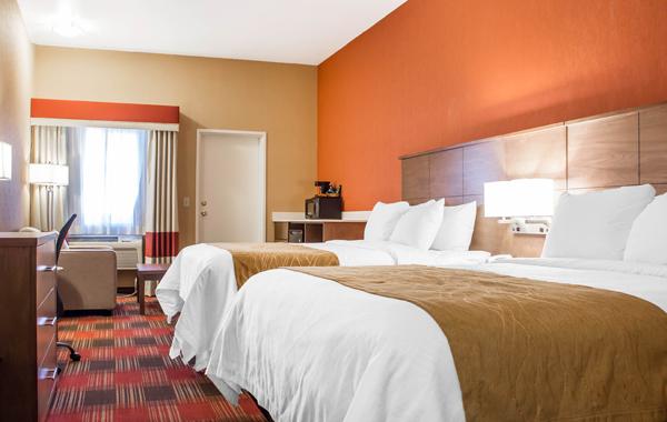 Comfort Inn Lucky Lane Flagstaff Two Queen Suite