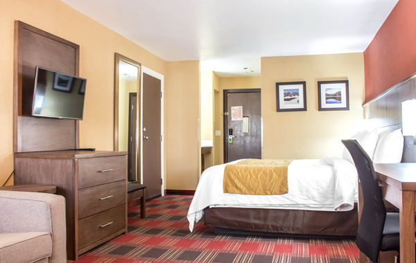 One King Bed Suite at Comfort Inn Lucky Lane Flagstaff