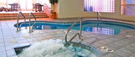 Indoor Heated Pool and Hot Tub in Comfort Inn Lucky Lane Flagstaff