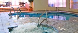 Indoor Heated Pool and Hot Tub in Comfort Inn Lucky Lane Flagstaff